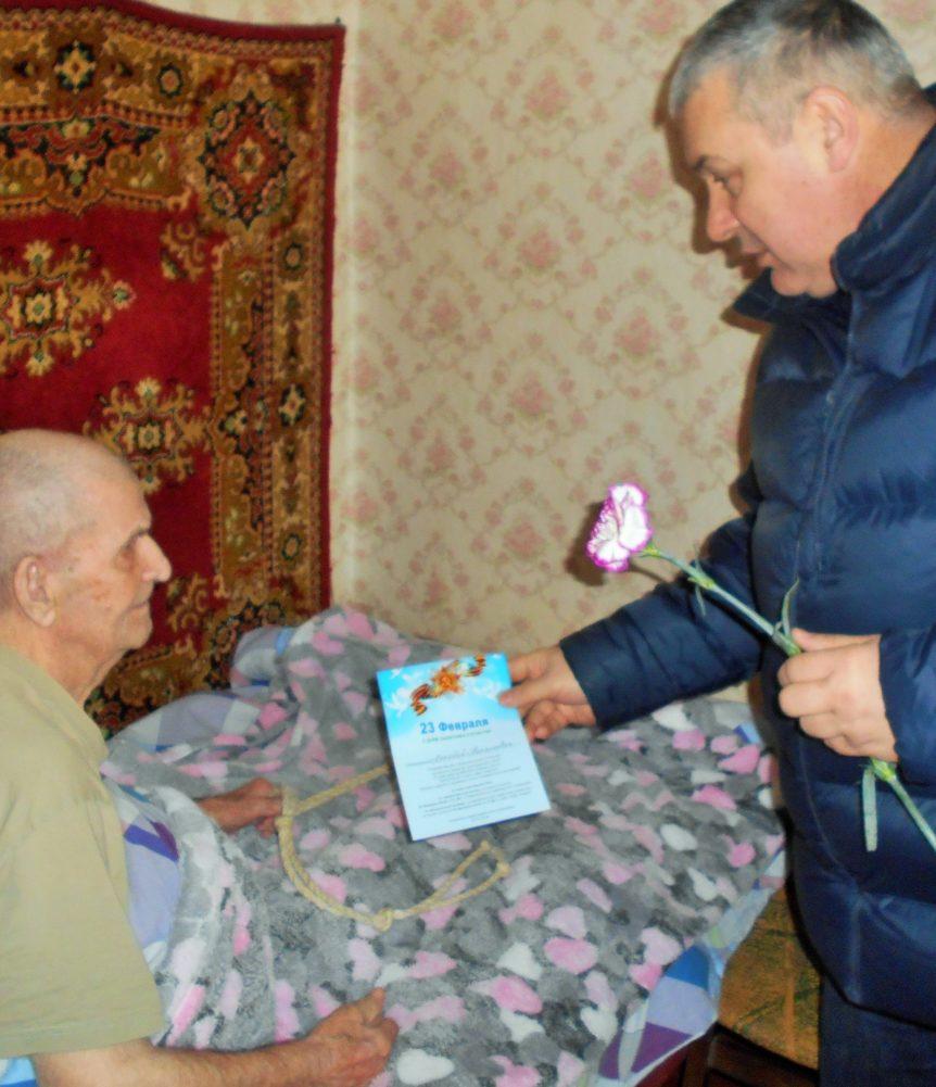Ветеран ВОВ Бурмакин Аркадий Николаевич (10)