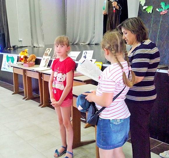 Дети читают Пушкина (2)