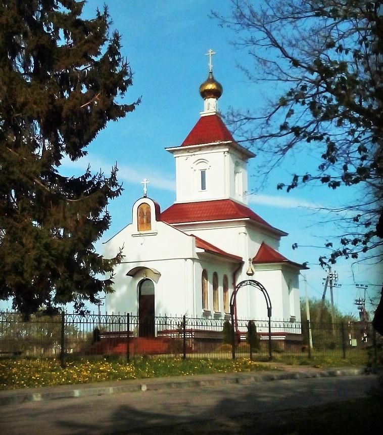 Храм в Новоселово